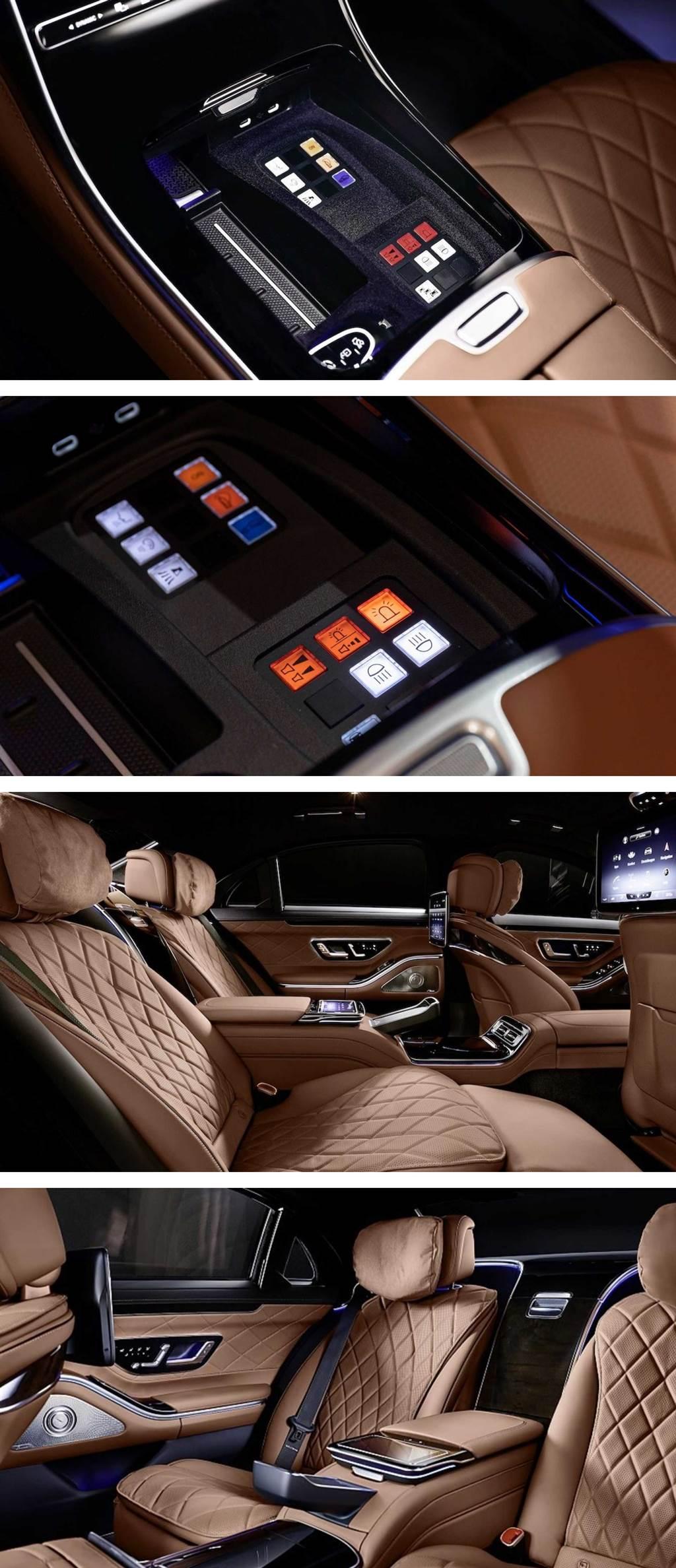 滴水不漏的安全防護,Mercedes-Benz S680 GUARD 4MATIC 防彈車亮相(圖/CarStuff)