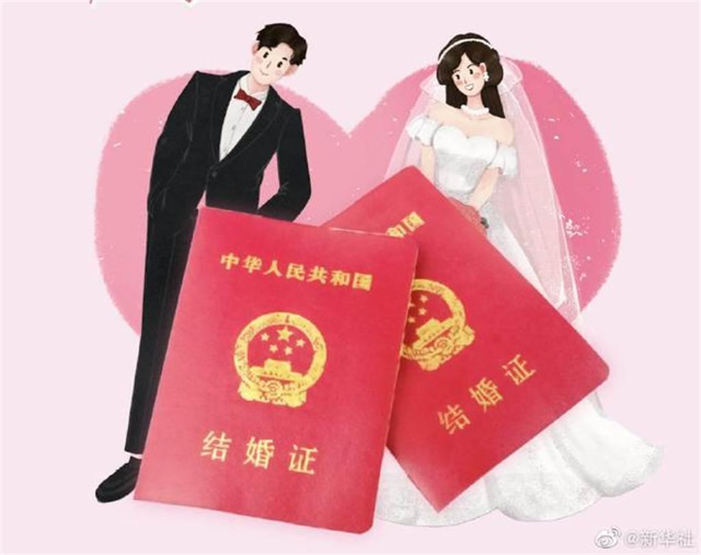 在離婚冷靜期制度實施半年後,大陸離婚登記人數已大幅下降。(新華社)