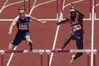 東奧》美國跑者鞋底加料?跨欄金牌怒批:根本彈簧鞋