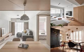木質調居家不是無印風專利!木地板、木紋磚、木作貼皮與油漆塗料不同佔比的居家裝潢建議