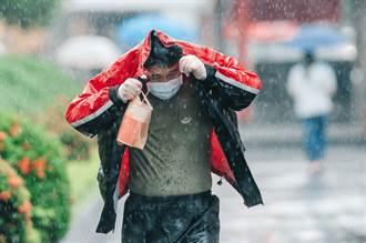 「盧碧」海警持續 暴風圈入台海 6縣市豪大雨特報