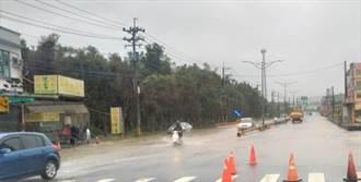 盧碧颱風外圍環流發威!高雄多處淹水