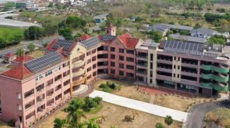 日月光捐千萬微電網  20年為學校省逾700萬電費、減碳1360噸
