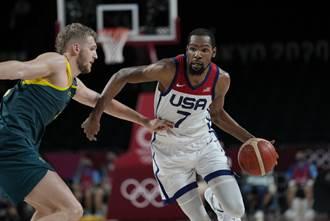 東奧》落後15分算什麼 美國男籃狂電澳洲挺進金牌戰