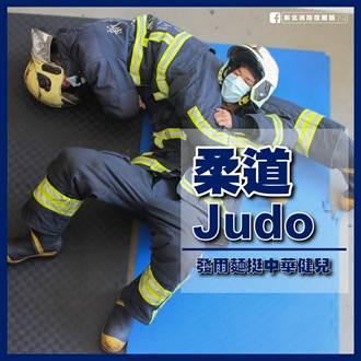 消防員KUSO東奧養眼照曝光 網狂讚:被消防耽誤的選手