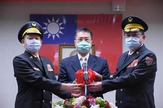 蕭煥章接任消防署長 期許與全國消防同仁共同打拚