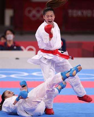 東奧》至少空手道銅牌!文姿云連贏兩場預賽挺進4強
