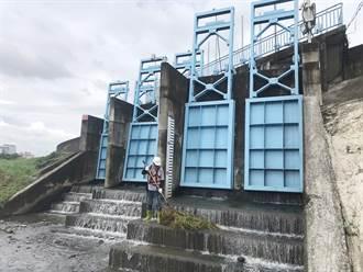 盧碧颱風豪雨來襲 三河局全力戒備