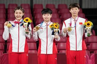 東奧》第34金! 中國乒乓女團完勝日本