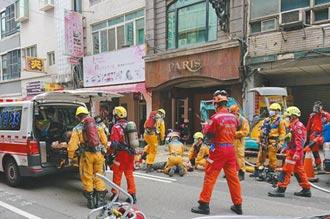 施工挖斷瓦斯管 5工人中毒命危