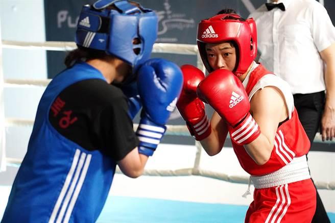 《女力拳開》講述脫北少女意外邁向職業拳擊手之路。(台北電影節提供)