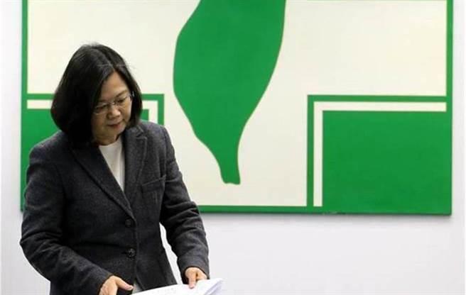 身兼民進黨主席的總統蔡英文。(圖/本報系資料照)