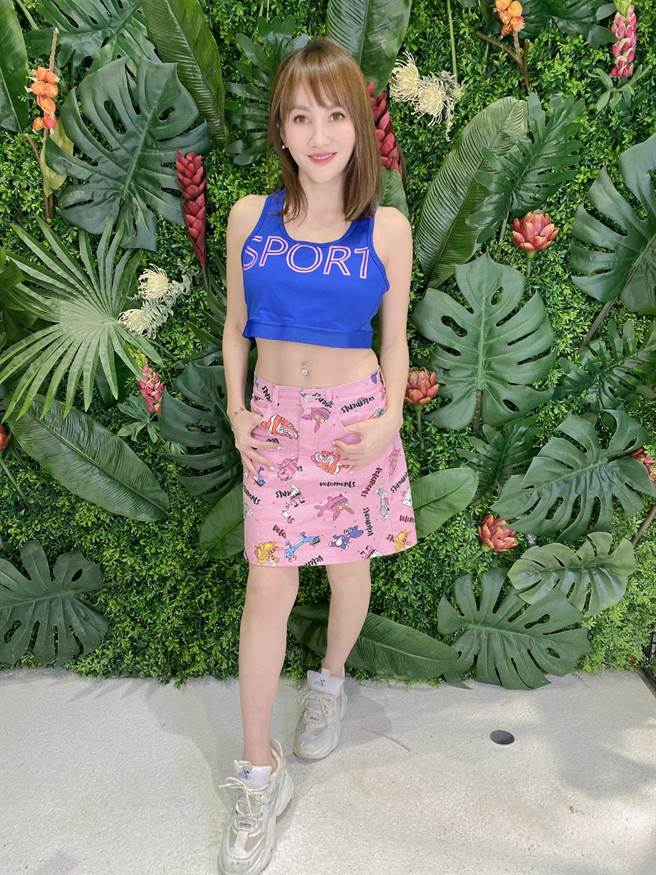 王宥忻健身有成,回到少女時代體重 39公斤。(固力狗娛樂提供)