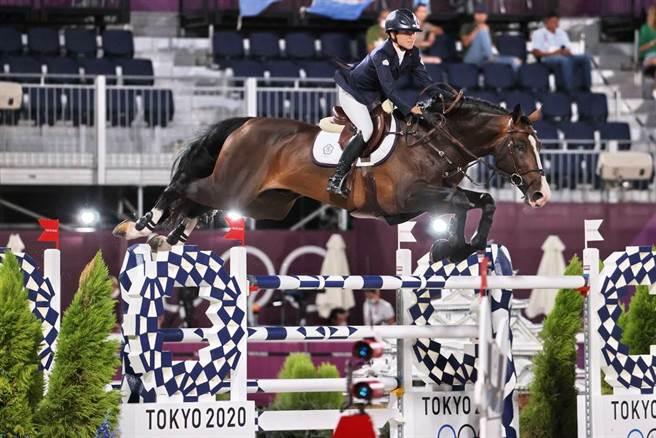 國巨二千金陳少曼代表台灣參加奧運馬術項目,也是史上第一位在此項目完賽的台灣選手。(圖/ 取自中時資料庫,體育署提供)