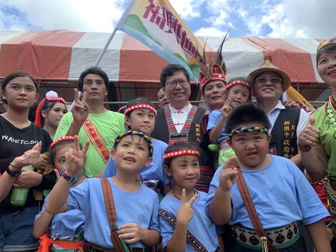 桃園市原住民人口數在7月31日已來到7萬8508人,超越台東縣的7萬8360人,躍升為全國第二多原住民人口的城市。(桃園市民政局提供/陳夢茹桃園傳真)