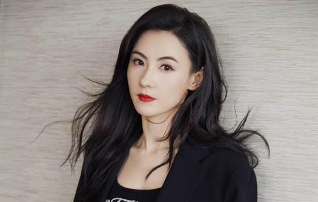 香港女星張柏芝。(圖/ 摘自張柏芝微博)