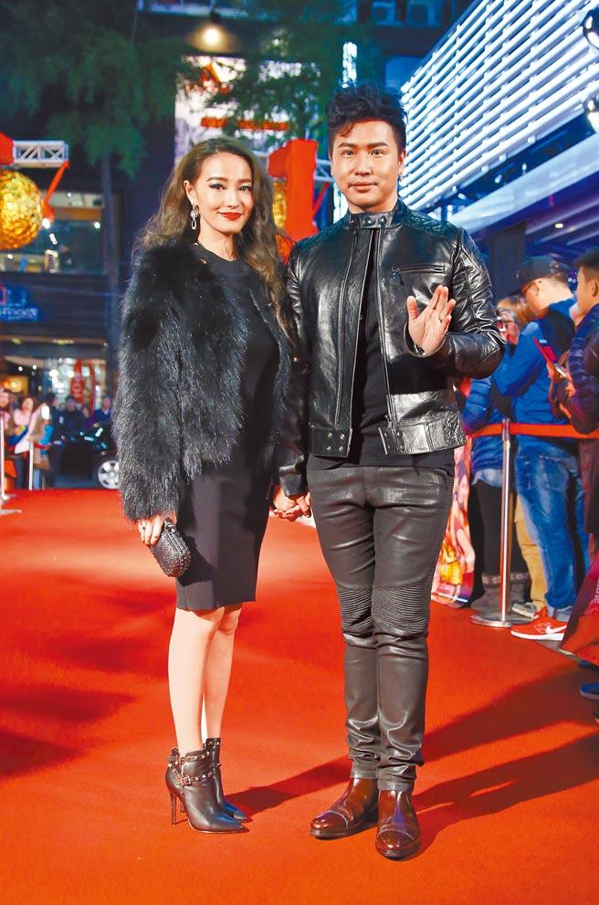 歐漢聲(右)和小8歲的鄭雲燦結束7年的婚姻,震驚外界。(資料照片)