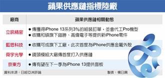 蘋果擴大紅色供應鏈 衝擊台、韓廠