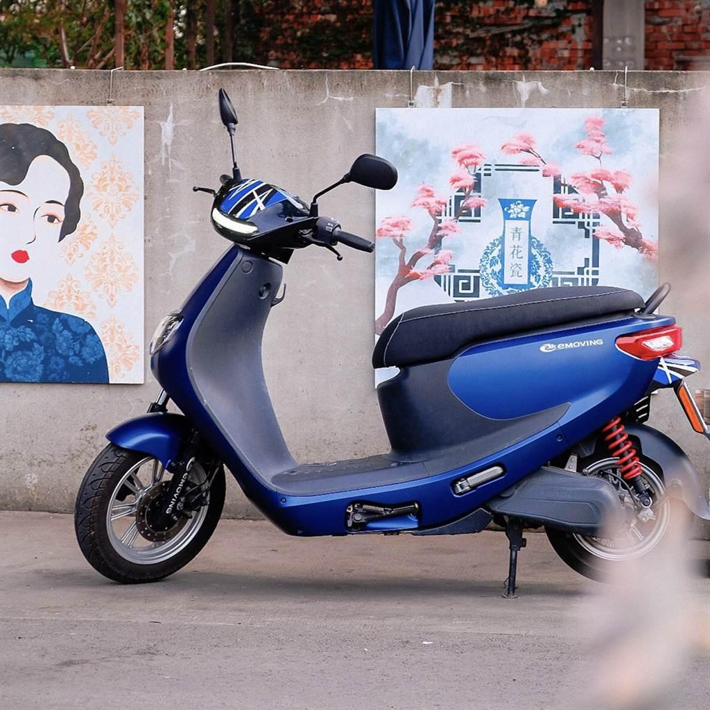 中華汽車八月推出emoving電動機車購車享12000元補助。(圖/品牌提供)