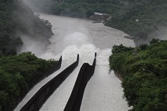 因應盧碧颱風帶來降雨 曾文水庫今日11點二度洩洪