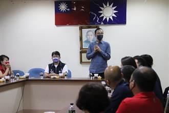 訪國民黨新竹縣黨部 朱立倫呼籲團結打勝仗