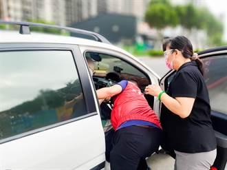 林口公所志工關懷獨居長者 串起社區防疫陣線