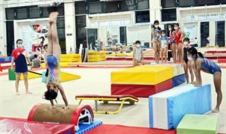 屏東體操隊微解封後加緊練習 奧運加持鬥志高
