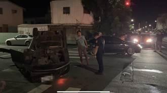 疑酒駕肇事 駕駛拒酒測竟起乩 警方強制送醫抽血酒測