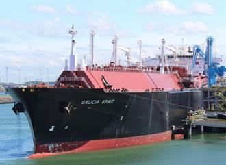從非洲種樹減碳交換來的 中油第三船碳中和天然氣今抵高雄