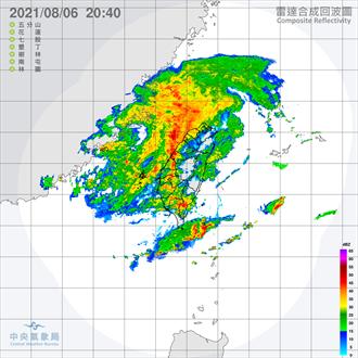 雨彈狂襲!氣象局:西半部恐有豪雨以上強降雨