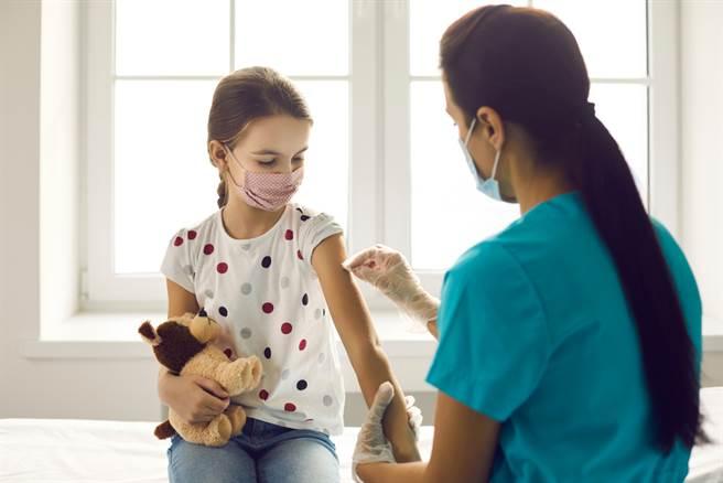 歐美亞洲,多國已開始替未成年人施打疫苗。(示意圖/shutterstock)