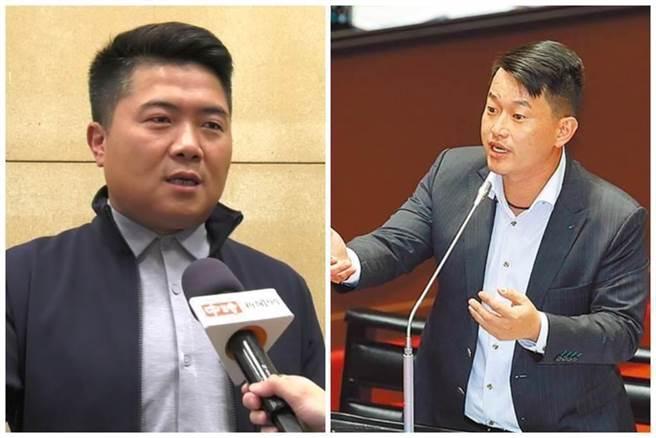 顏寬恒(左)和陳柏惟(右)過去曾是選戰對手。(中時資料照)