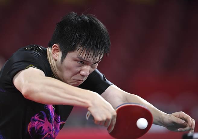 中國隊選手樊振東。(新華社)