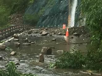 雨彈襲高雄 桃源區聯外道路阻斷成孤島