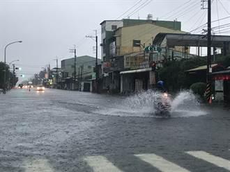 屏東霧台豪雨狂灌 累積雨量483毫米 縣府災害應變中心二級開設