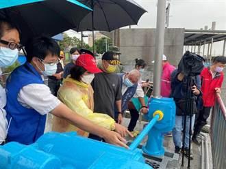 雲林宣布7日停班停課 張麗善巡查抽水系統工程