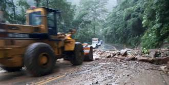 嘉義山區雨落不停 阿里山公路今晚擬再預警性封閉