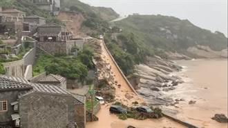 馬祖2日累積降雨330毫米破紀錄  南北竿土石崩落災情頻傳