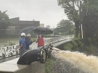 大雨轟炸 新竹市啟動防汛整備防淹水