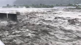 豪雨持續狂炸 高屏溪幾近滿水位、屏東農損近3300萬