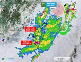 劇烈豪雨20:30解除 專家:最強雨勢已過 3地仍不可鬆懈