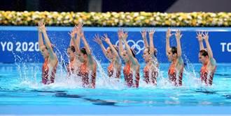 東奧》把八個人練成一個人 陸拿下花式游泳團體銀牌