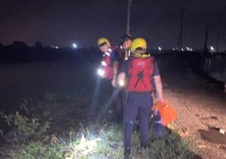 男子暴雨中跌落水溝遭大水沖走 南州警消搜尋一夜無下落