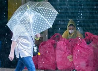 4縣市豪大雨往北擴大 又有熱低壓發展恐往這移動