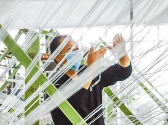 紡纖廠加速研發環保材質