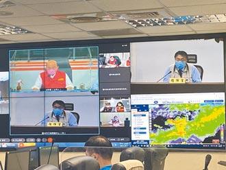 大雨逢漲潮 台南預防撤離152人
