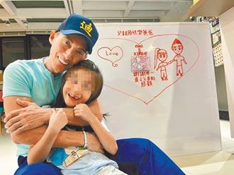 8歲女兒送畫潘若迪甜在心