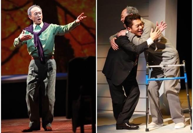 金士傑與卜學亮演出的《最後14堂星期二的課》邁入10周年。(果陀劇帳提供)