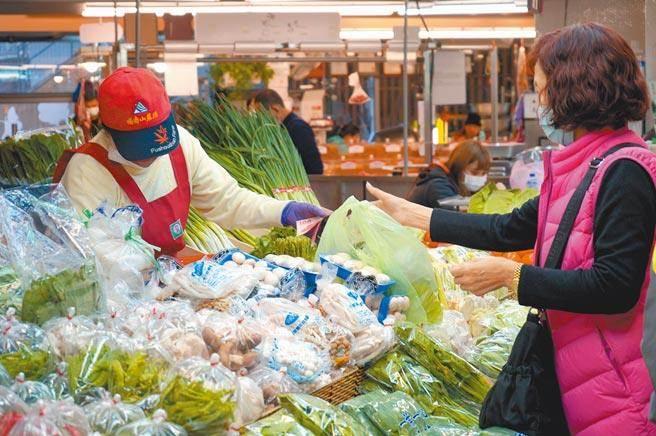 今日蔬菜每公斤批發價格為47元,較昨日每公斤43.9元,上揚3.1元、漲7%,再度創下今年新高。(本報資料照片)