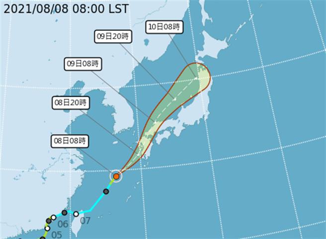 目前盧碧已經重新回到輕度颱風強度,正快速往日本九州方向前進,影響台灣的西南氣流強度已經不像前兩天這麼強,不過台南以南的高屏山區從昨晚到今天上午還是持續出現頗大的雨勢。(取自氣象局)